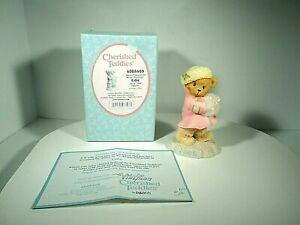 CHERISHED TEDDIES EDDIE WARM N WONDERFUL WINTER GREETINGS 4005469 RARE 2006