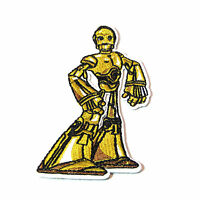 Star Wars C3po Gold Embroidered 4 Tall Patch