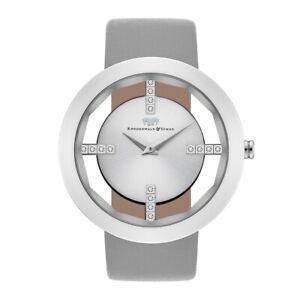 Rhodenwald Söhne Armband-Uhr Damen Lucrezia Echtleder Damen Uhren Damenuhr