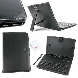 Black-PU-Leather-Keyboard-Case-with-Bluetooth-For-Asus-MeMO-Pad-10-ZenPad-10