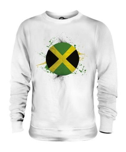 JAMAICA FOOTBALL UNISEX SWEATER TOP GIFT WORLD CUP SPORT