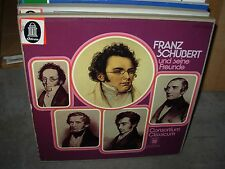 CONSORTIUM CLASSICUM / SCHUBERT und seine freunde ( classical ) 4lp box odeon