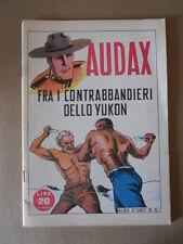 ALBI D'ORO n°6 1946 AUDAX fra i contrabbandieri Ristampa  [G754] Ottimo