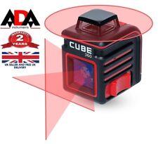 Laser Level 360 Degree Cross Line Self Leveling Horizontal 360° Measure ADA CUBE