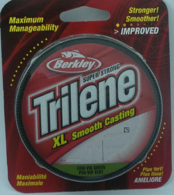 330 yd environ 301.75 m Nouveau fil Berkley Trilene XL 8 lb environ 3.63 kg Clear Blue Fluorescent