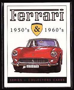FERRARI-50-039-s-amp-60-039-s-Collectors-Cards-250-275-365