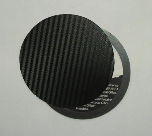 magnetic tax disc holder carbon fibre fits nissan perodua peugeot porsche z