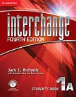 Interchange Level 1 Student's Book A with Self-study DVD-ROM and Online Workbook A Pack by Jack C. Richards (Mixed media product, 2012)