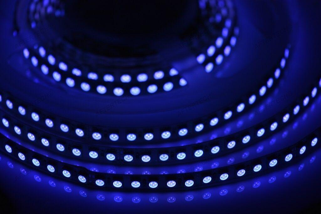 24v 24w UV 1m STRIP STRISCIA 120 LED SMD5050 ultrapúrpurato LAMPADA WOOD 24VOLT
