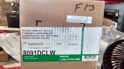 "LIGHTOLIER 6/"" APERTURE 26//32W TRIPLE TUBE OPAL DIFFUSER 8091DCLW"