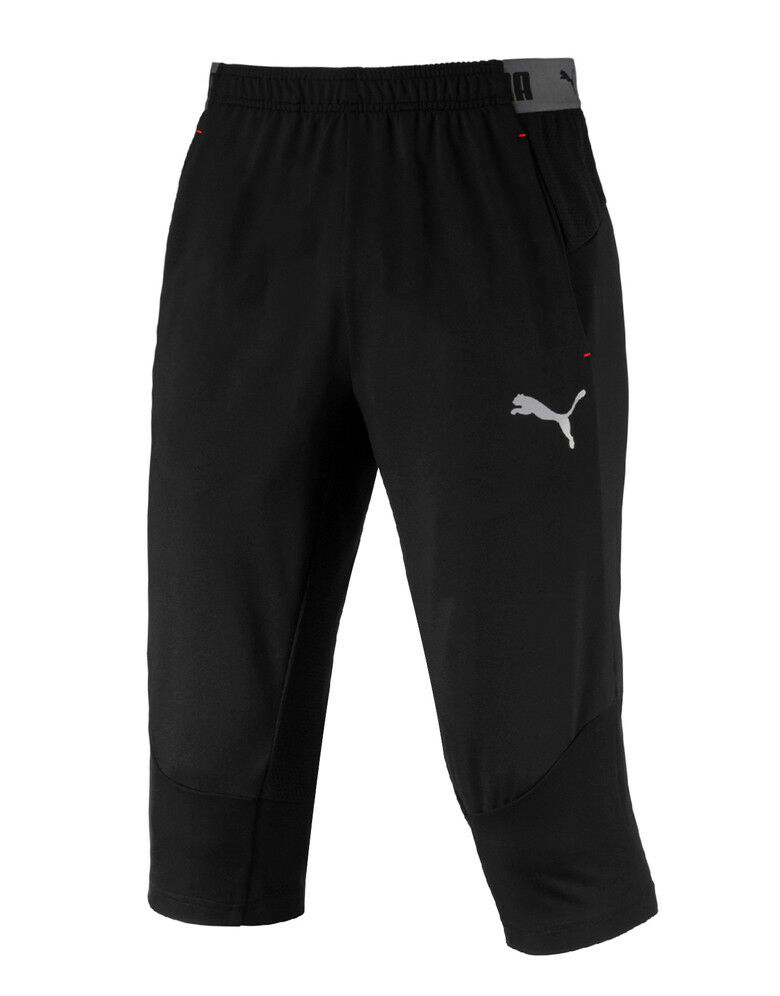 Puma Football Next 3 4 Pants (65622501) Soccer Running Training Gym Capri Pants