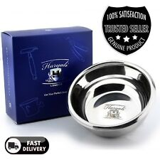 Stainless Steel Shaving Bowl wet shave barber shave