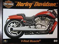FASCICULE 60 HARLEY DAVIDSON V-ROD MUSCLE / XLCR CAFE RACER / BARBER MUSEUM