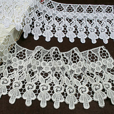 """4.5"""" Ivory Venice Vintage Victorian Lace Trim Sold By Yard"""