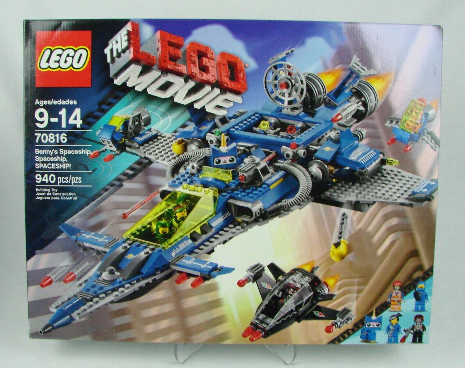 Lego  The Lego Movie   Benny's Spaceship   940 pcs (2014)  NISB