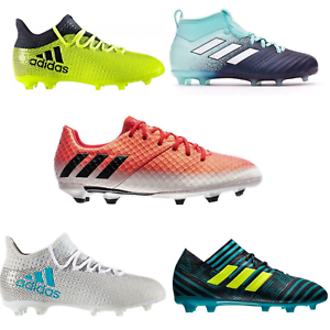 Adidas-Messi-amp-Ace-amp-X-16-17-1-Fg-Junior-Chaussures-De-Football-RRP-80-Maintenant-17-20
