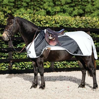 Umorismo Horseware Rambo Reflective Night Rider-pony-silver/black-ausreitdecke-mostra Il Titolo Originale