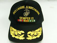 US NAVY CAP ORIGINAL US Marine Corps Made in USA Double Eggs One Size Fits All