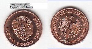 stampsdealer-Ludwig-Erhard-Bundeskanzler-Fuerth-Bonn-Cu-Medaille-18-mm-TU3