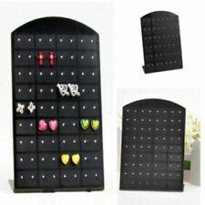 72 Holes Earrings Display Stand Organizer Jewelry Holder Showcase Tool Rack Us