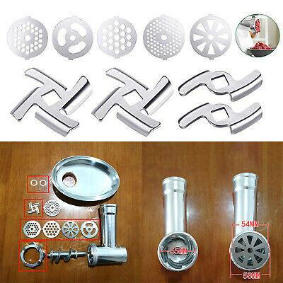 55MM Type-5 Meat Grinder Hole-Plate Stainless Steel Household Grinders Parts