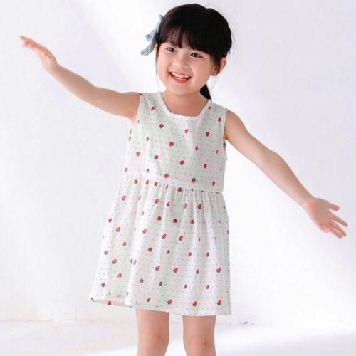 Summer Kids Infant Baby Girls Party Wedding Princess Tutu Dress Holiday Sundress