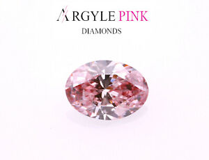 Argyle-Diamant-Rose-0-17ct-Naturel-Dessere-Deguisement-Intense-Couleur-GIA-VS1