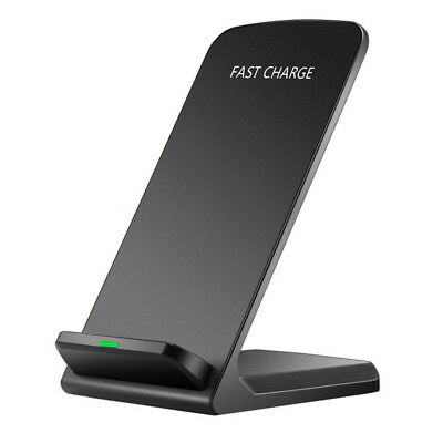 Fast Qi Wireless Charging Charger Dock Pad For iPhone X 8 Samsung Galaxy S9 lot