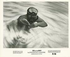 ROOSEVELT GRIER EVIL IN THE DEEP 1974 PHOTO ORIGINAL #5 ILLUSTRATION ART