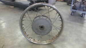 68 AMF Harley Davidson SS250 SS 250 Sprint Front Rim Wheel