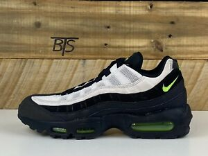 "compromiso antiguo Incentivo  Men's Nike Air Max 95 Essential ""Antifreeze"" Size-8.5 Black Green (AT9865  004) 