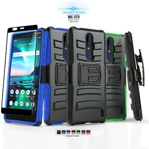 online store ccb02 42efb Details about for NOKIA 3.1 PLUS (Cricket), [Refined Series] Phone Case  Cover & Holster Clip
