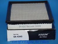 Lot Of 4 Engine Air Filter Fits Sa4343 Fits: Ford Lincoln Mercury & Ford Trucks
