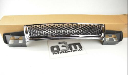 2007-2014 GMC Yukon Front Lower Radiator Chrome Grille new OEM 15264513