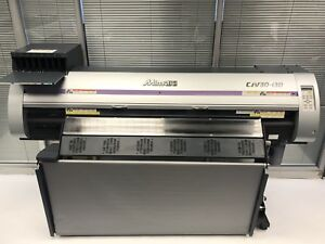Details about Mimaki CJV-30 130 Eco Solvent Printer Cutter Print Cut Roland  Sign Banner Vinyl*