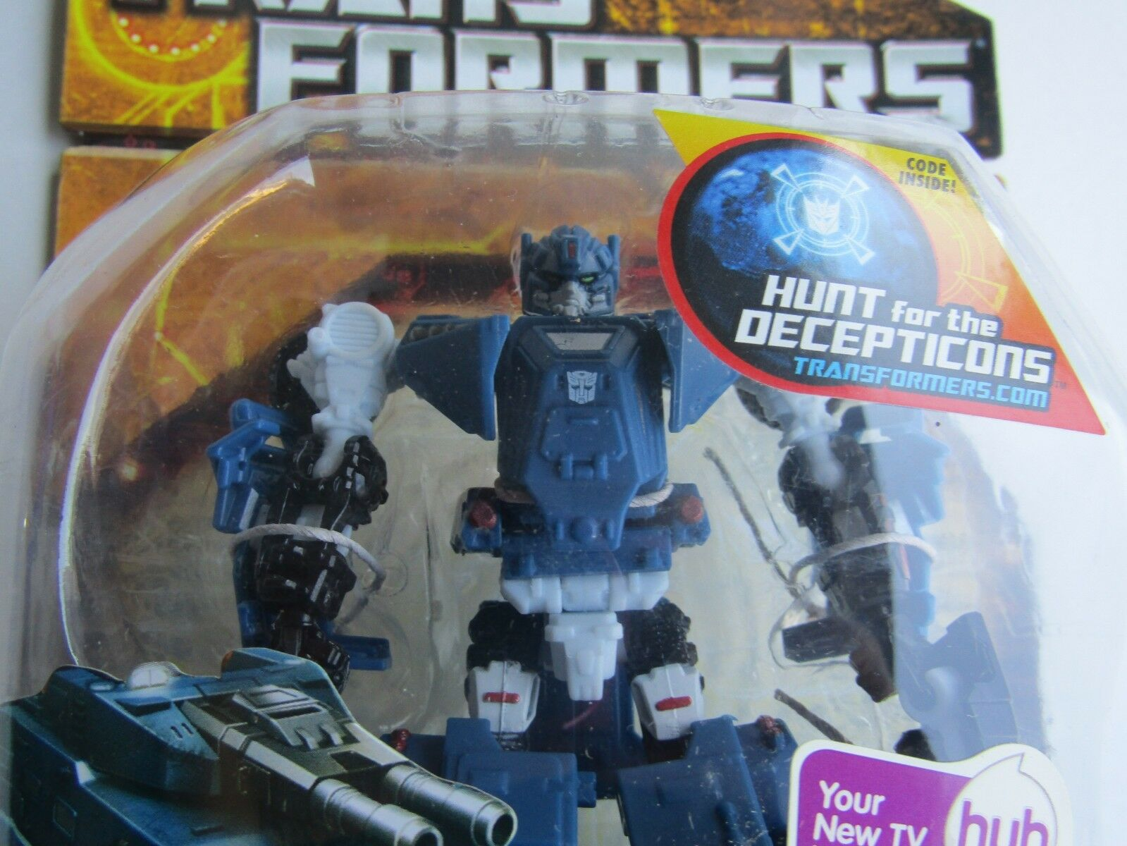 Hasbro Transformers Hunt for the Decepticons Scout Breacher