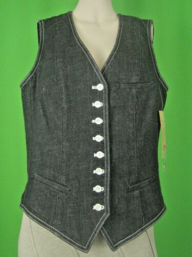 Jeans Lauren M New Black Denim Rl Vest Co Af f6wgq16