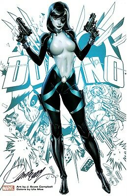 SAVAGELAND STORM ART PRINT BY J SCOTT CAMPBELL 11x17 SDCC 2016