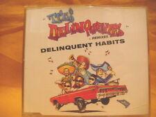 MAXI Single CD DELIQUENT HABITS Tres Deliquentes 6TR '96 pop rock cubano hip hop
