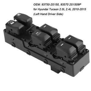 Power Master Window Switch For Hyundai Tucson 2.0L 2.4L 2010-2015 93750-2S150