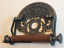Victorian-Toilet-Roll-Holder-Silver-Grey-Iron-Vintage-Novelty-Unusual-Crown-Old thumbnail 3