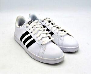 Details about D2125 Pre Owned Men's Adidas Cloudfoam Advantage Stripes US 8.5 M