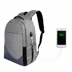 Unisex-Anti-Theft-Backpack-Laptop-USB-Port-Charger-Travel-Oxford-School-Bags-30L