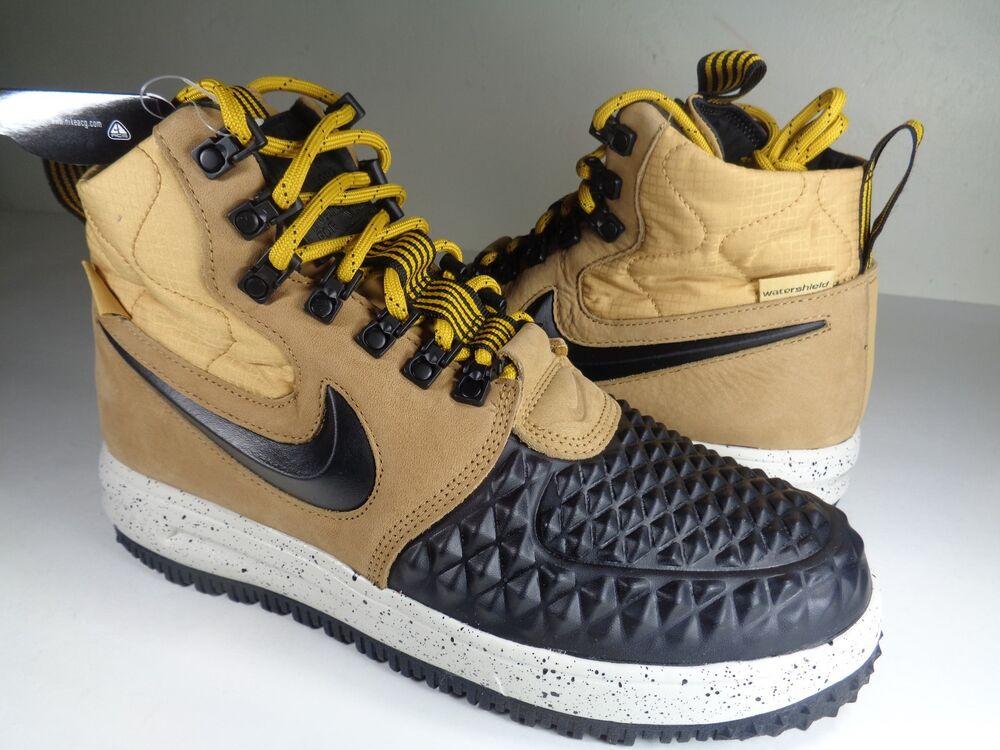 Nike LF1 '17 Lunar Force 1 Duckboot '17 LF1 Metallic Gold Noir Bone Homme  Chaussures de sport pour hommes et femmes cba878