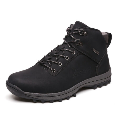 39-46 Men Outdoor Hiking Shoes Work Anti Slip Safety Marten Boots Casual Lace Up