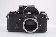 NIKON F2 PHOTOMIC BLACK SLR CAMERA BODY, TESTED, GOOD USER, BARGAIN
