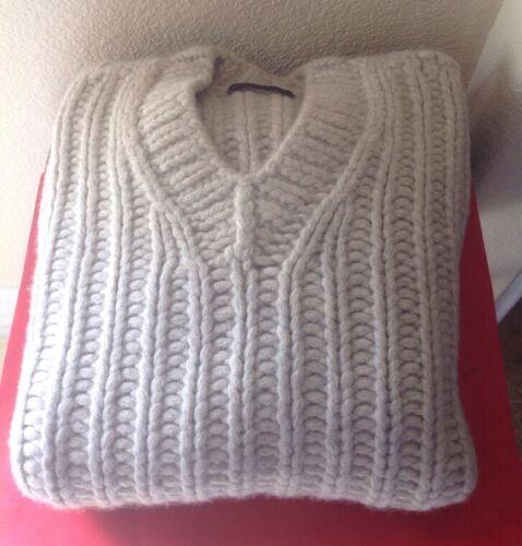 Sz Light neck Cashmere Gray Sweater wool Donna Karan Unisex 1500 Nwotag small V 0qggv1w