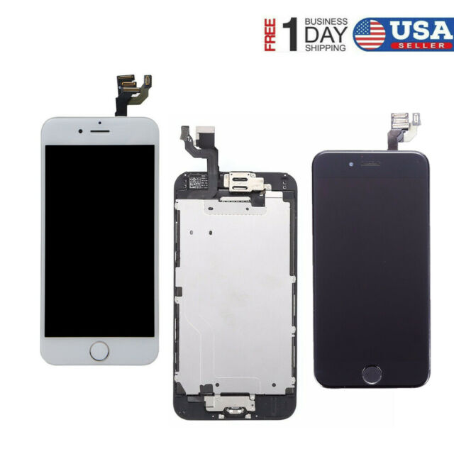 for iPhone 6S Plus LCD Digitizer 3D Touch Screen Replacement Button A1634 A1687