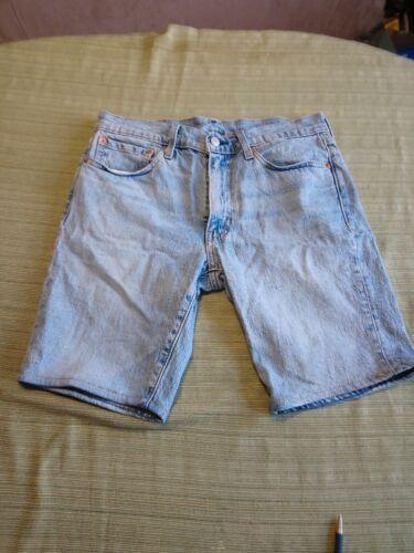Levis 511 Big E Denim Shorts Size 32 - image 1