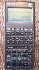 HP Hewlett Packard 48G Graphing Calculator, Case, PDF Manuals on CD - VGC! AXL6